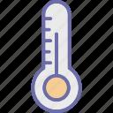 digital thermometer, fahrenheit, fever scale, temperature icon