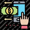 application, digital, money, payments, smartphone