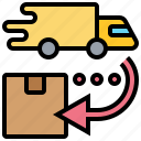 delivery, highspeed, logistic, package, service icon