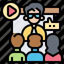 conference, meeting, online, seminar, teaching
