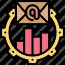 advertisement, online, email, setup, marketing icon