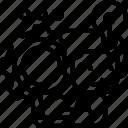 work, creative, setting, organized, developer icon