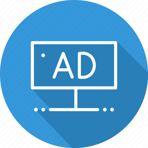 advertising, business, modern, stand icon