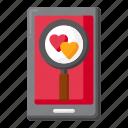 dating, app, mobile, love