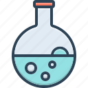 beaker, chemical, conical, education, equipment, experiment, flask icon