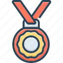 achieve, award, medal, prize, success, trophy, winnere icon