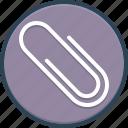 accessory, attach, clip, paper, pin, pointer, tack icon