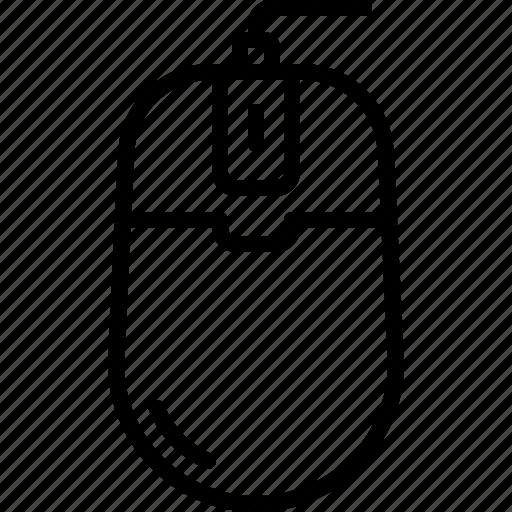click, computer, cursor, mouse, pc, pointer, scroll icon