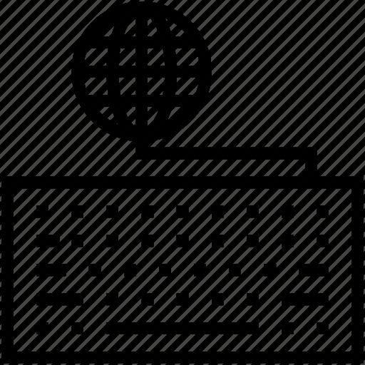 computer device, computer keyboard, globe, input device, keyboard icon