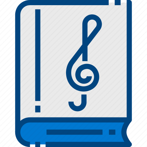 Book, education, music, musical, note, song icon - Download on Iconfinder