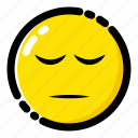 emoji, emoticon, expression, sad icon