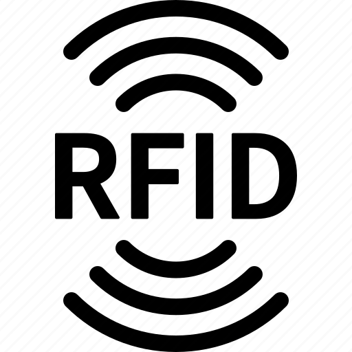 Chip, frequency, identification, radio, rfid, signal, wave icon - Download on Iconfinder