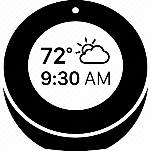 alexa, amazon, clock, echo, smart, speaker, spot icon