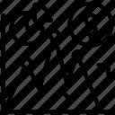 dollar chart, dollar graph, financial analysis, financial chart, financial market icon