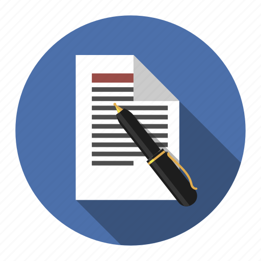 agreement, blog, business, businessman, contract, copywriting, finance, header, letter, pact, payment, pen, price, row, treaty, write icon