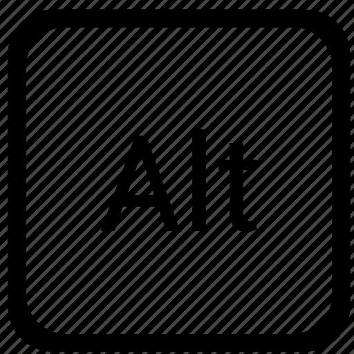 alt, function, key, keyboard icon
