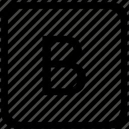 b, case, key, keyboard, upper icon