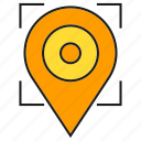location, map, navigator, pin, pointer, tracking icon
