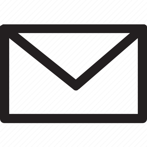 contact, email, mail, message, send mail icon