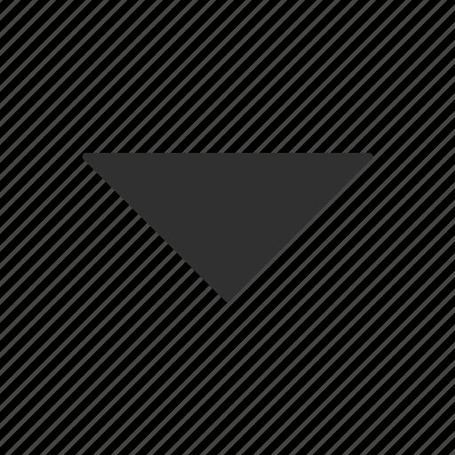 arrow, arrow down, cursor, navigator icon