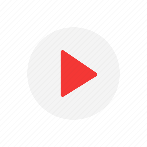 arrow, pause, video, video player icon