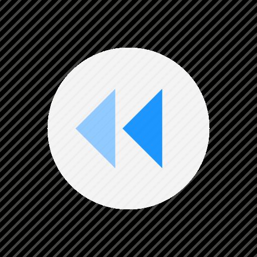 arrow, back, previous, replay icon