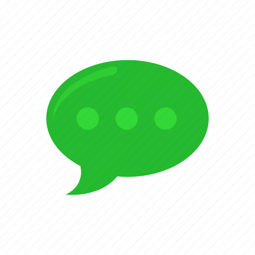 chat, message, texting, word bubble icon