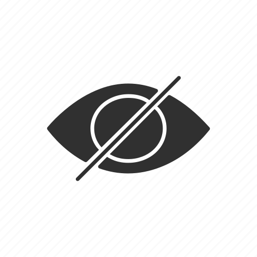 Eye, hide, private, unsee icon - Download on Iconfinder