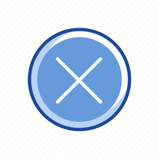multiply, remove, wrong, x icon