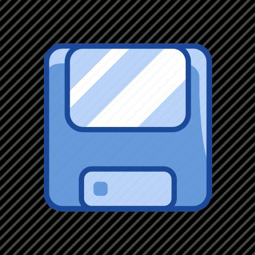 data storage, disk, diskette, storage icon