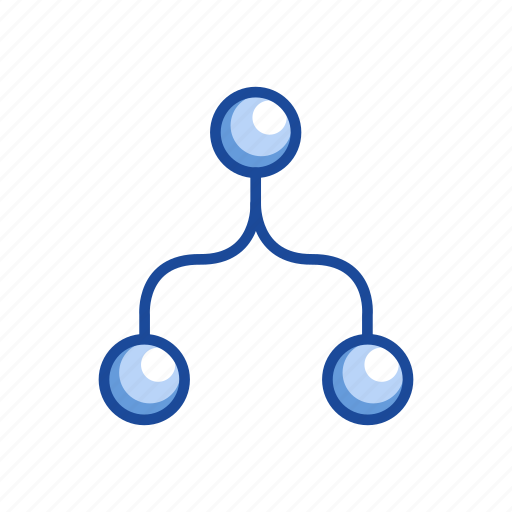 blend, connect, merge, network icon