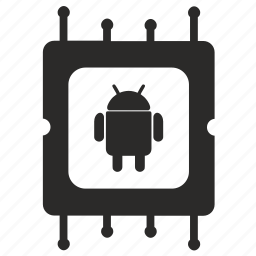 android, chip, chipset, module icon