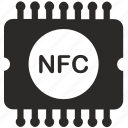 chip, memory, module, nfc, pay, payment icon