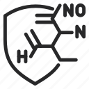 active, chemical, formula, medicine, molecule, pharmaceutical, physics icon