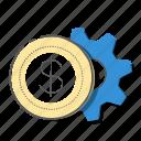 bank, banking, business, management, marketing icon