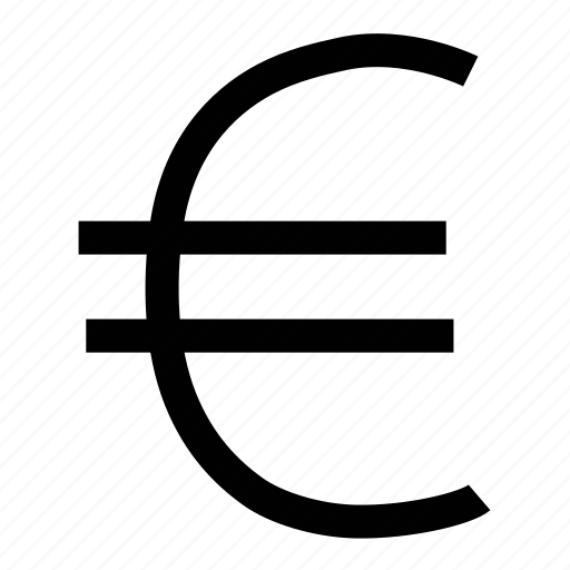 business, cash, currency, euro, euro sign, money, payment icon