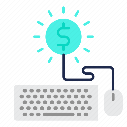currency, earn, money, online, payment icon