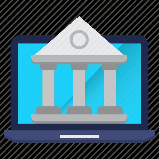 banking, finance, internet, money icon