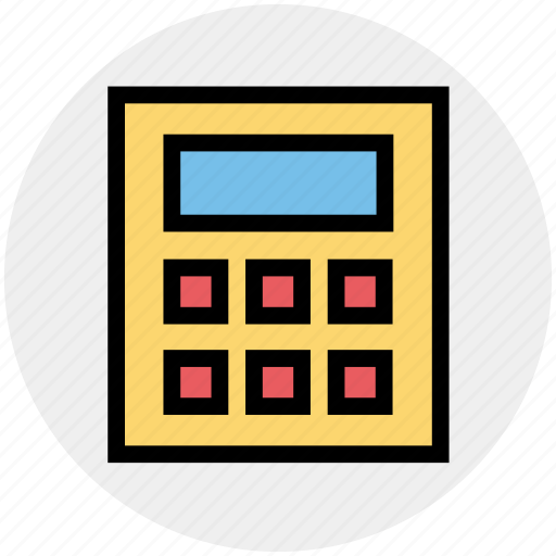 banking, calculation, calculator, currency, efficiency, finance, productivity icon