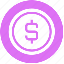 finance, business, money, dollar, sign, bit coin, coin
