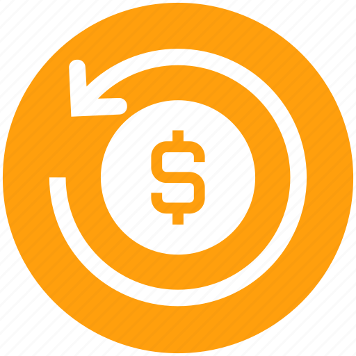coin, dollar, finance, financial, payment, refresh, sync icon