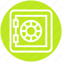deposit, money, safe, safety, secure, strongbox, vault icon