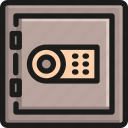 box, business, protection, safe, safety, secure, security icon