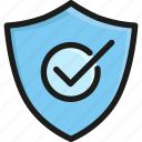business, protect, protection, safety, secure, security, shield icon