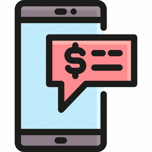 alert, internet, message, mobile, notification, phone, warning icon