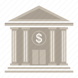 bank, building, business, finance, financial, fund, money icon