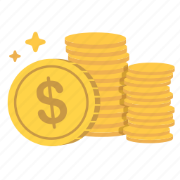 cash, coins, earn, funds, money, payment, values icon