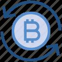 arrows, bitcoin, cash, coin, currency, financial, money