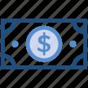 cash, dollar, dollar note, finance, money, payment
