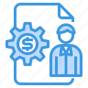banking, business, currency, investment, money, payment icon